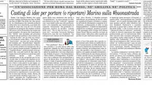 il Foglio 12-03-2014 Made in Rome