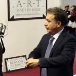 """Mauro Mannocchi al Foro dell'Artigianato Artistico per il """"Made in Rome"""""""