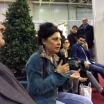 """Adele Minestrini al Foro dell'Artigianato Artistico per il """"Made in Rome"""""""