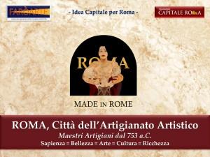 ROMA Città dell'Artigianato Artistico