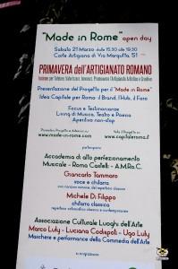 Made in Rome open day a Via Margutta