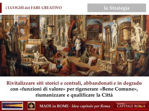 i Luoghi del Fare Creativo - Made in Rome