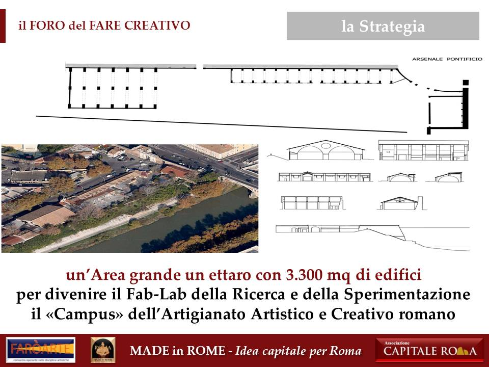 l'Arsenale Pontificio per il Made in Rome