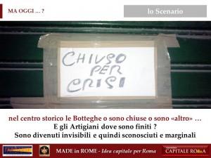 la Crisi come opportunità per il Made in Rome