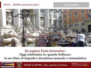 la Grande Bellezza del Made in Rome
