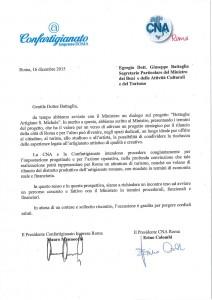 Giuseppe BATTAGLIA Confartigianato e CNA