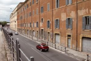 le Botteghe del San Michele e, dopo Porta Portese, l'ex Arsenale Pontificio